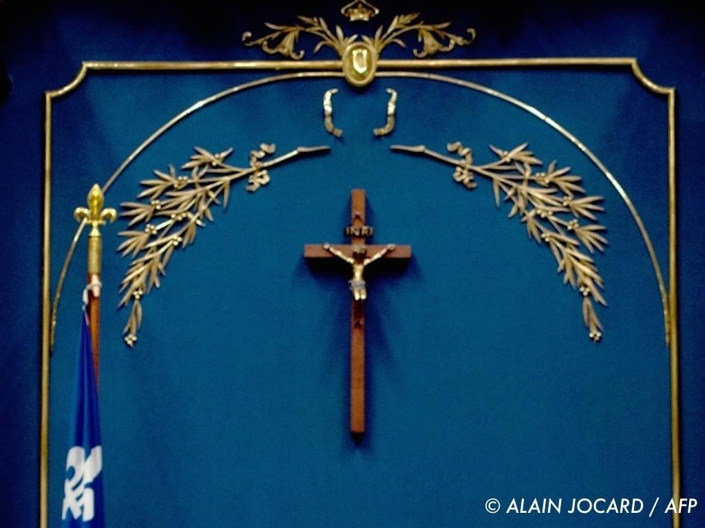 , Québec : à l'Assemblée nationale, le crucifix n'est plus là