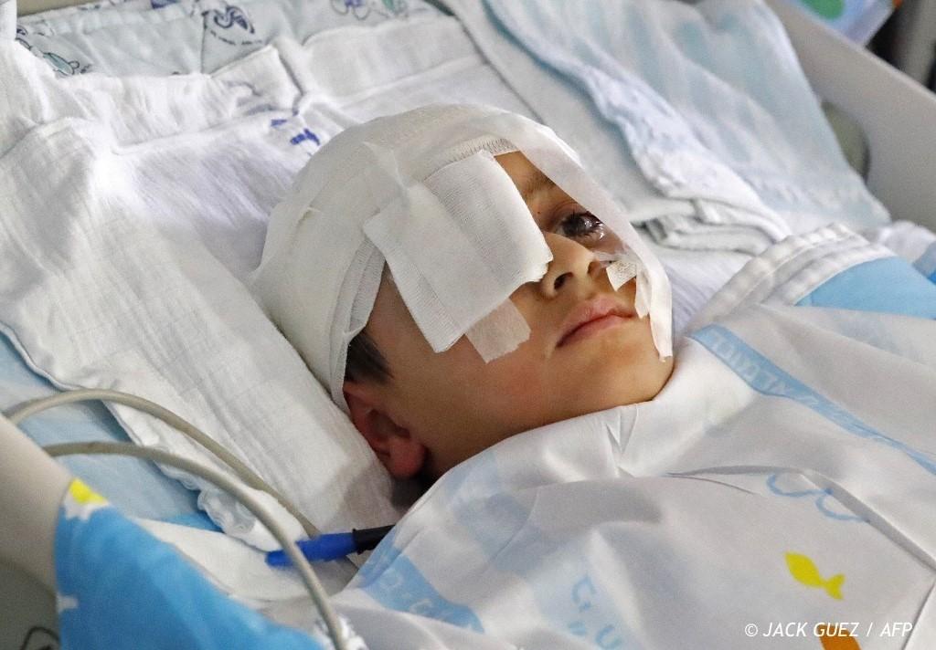 , La famille d'un garçon palestinien blessé à la tête veut des réponses d'Israël