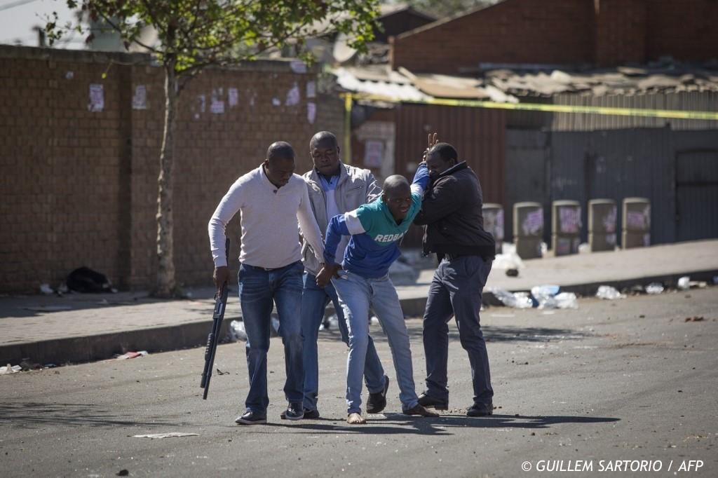 , En Afrique du Sud, le président dénonce les nouvelles violences xénophobes