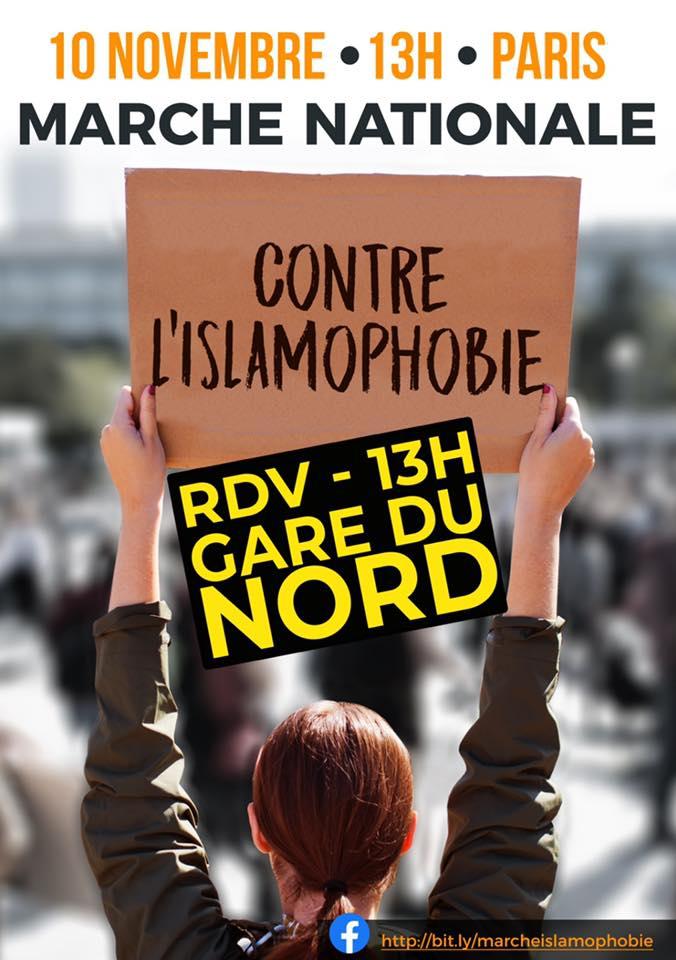 , Le 10, une marche historique contre l'islamophobie