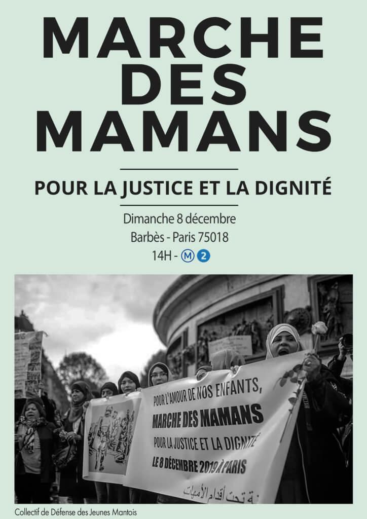 , Les mamans du Mantois marcheront pour la justice et la dignité